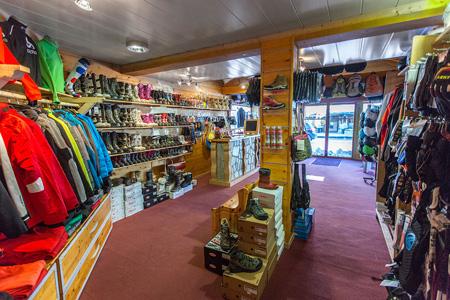 ski clothing shop La Chapelle d'Abondance