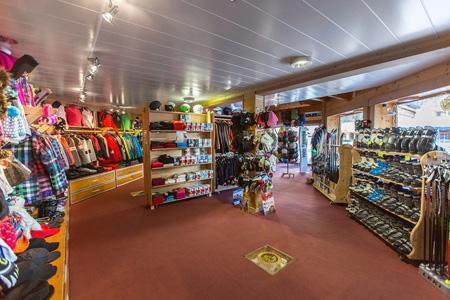Magasin de location de ski à la chapelle d'abondance